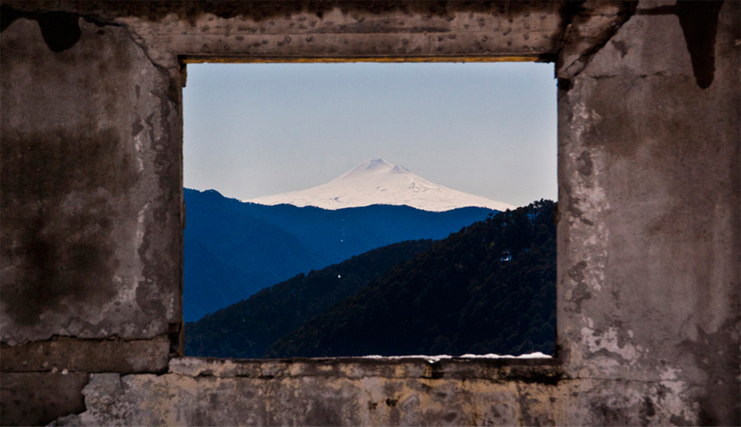 Ruinas del 'Refugio Antiguo' | Volcán Villarrica