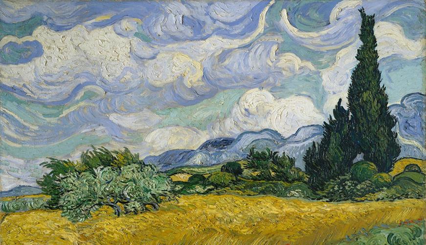 El cielo según Van Gogh