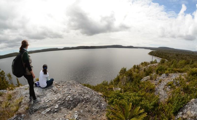Lago Chaiguaco, Parque Tantauco I Chiloé