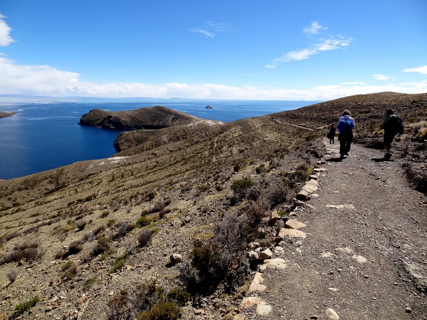 Cruzando la Isla del Sol | Bolivia