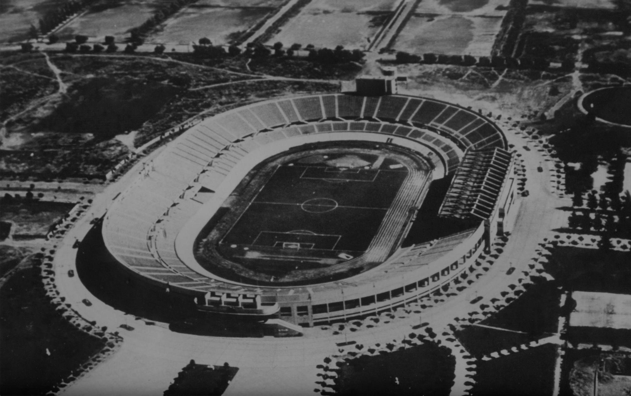 Lo alemán del Estadio Nacional de Santiago