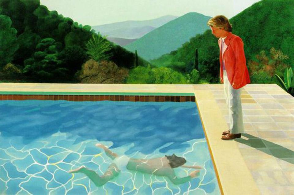 Algunas razones para conocer a David Hockney