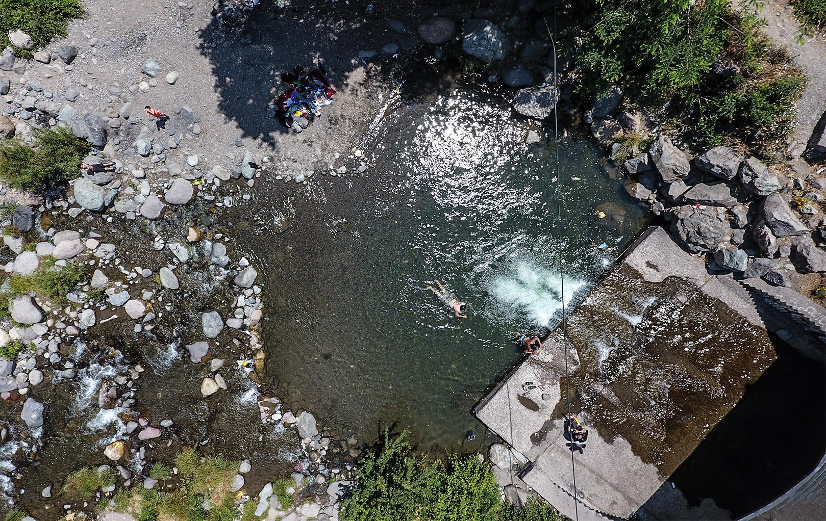 Cajón del Maipo: la ocupación, la ribera y el paisaje